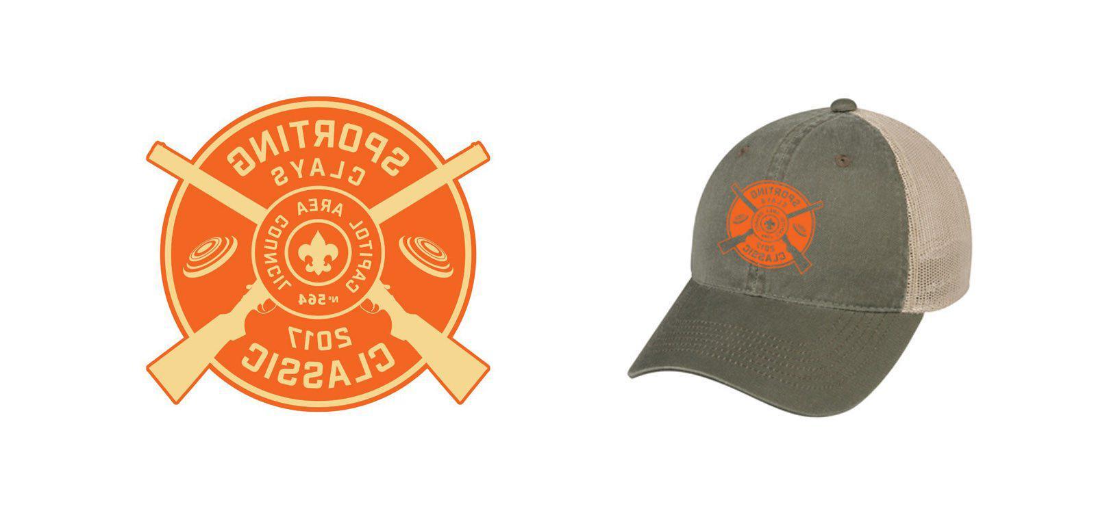 2017 Clayshoot的logo和帽子伟德平台注册